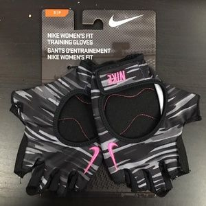 Nike Fit Training Athletic Gloves Womens Sz Small